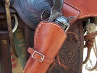 "Saddle Tan 5 1/2"" Colt SAA"